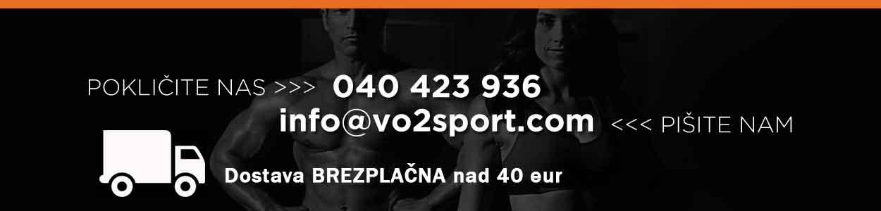 VO2 Sport Športna Prehrana - sportna prehrana vo2