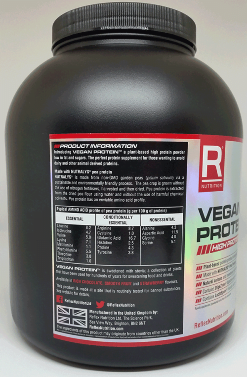 VO2 Sport Športna Prehrana - vegnaski proteini2
