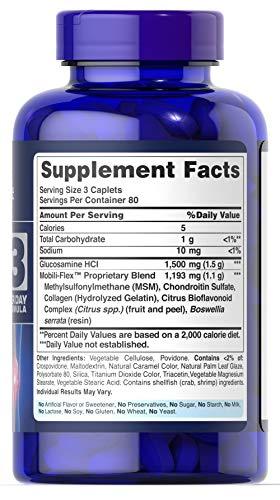 VO2 Sport Športna Prehrana - puritan glukozamin sulfat msm sestava