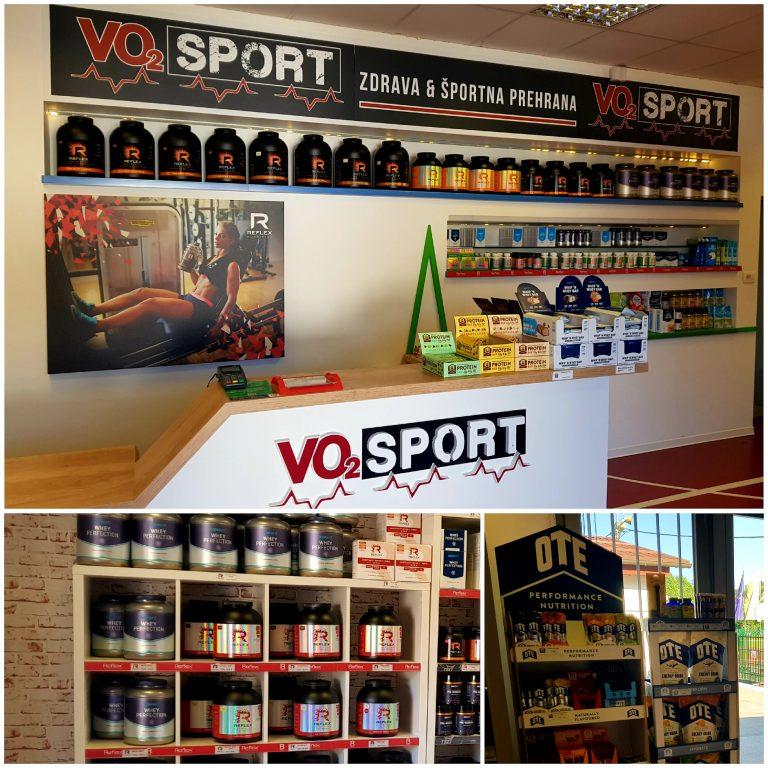Nova lokacija trgovine VO2 Sport