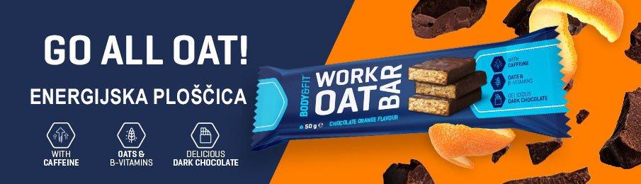 VO2 Sport Športna Prehrana - Banner Work Oat Bar
