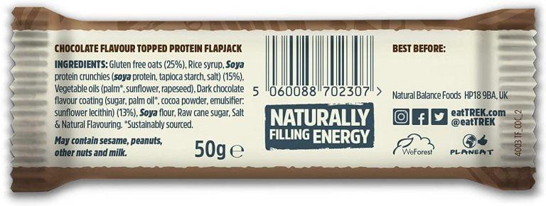 VO2 Sport Športna Prehrana - trek proteinski flapjack kokos sestava coko