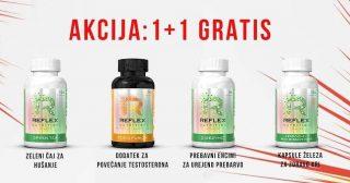 💥AKCIJA💥 Kupiš enega, dobiš DVA‼️Velja za izbrana Reflex prehranska dopolnila🔝 Samo za kratek čas! Velja za spletna naročila in v trgovini v Ljubljani. ➡️https://www.vo2sport.com/akcija-11-gratis/