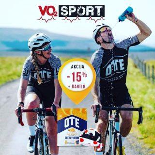 💥PROFI izotonik OTE Energy 15% OFF + darilo kolesarska rutka‼️➡️Osebni prevzem na Kodeljevem vsak dan 10h-17h, ali online na vo2sport.com. Poštnine ni‼️